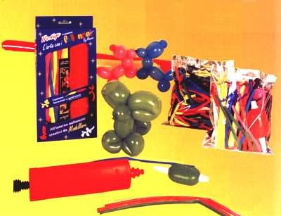 Pompa per gonfiare i palloncini da modellare